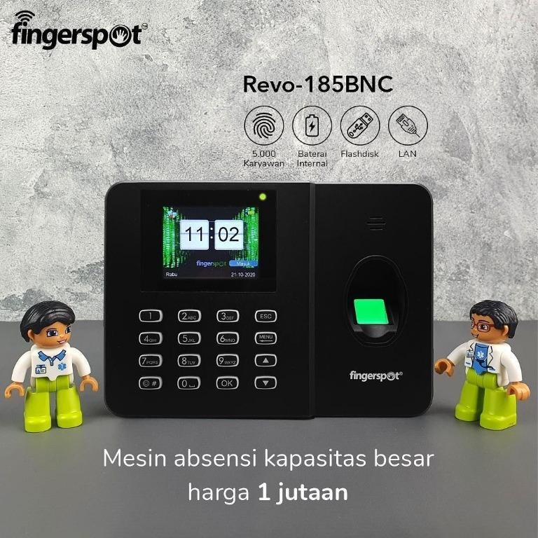 Fingerspot Revo 185 BNC Alat absensi