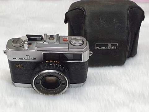 Fujica Date 35mm Rangefinder Camera