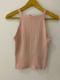 H&M pink tank top