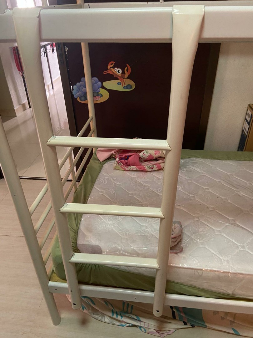 Ikea Bunk Bed Double Deck Bed Furniture Beds Mattresses On Carousell