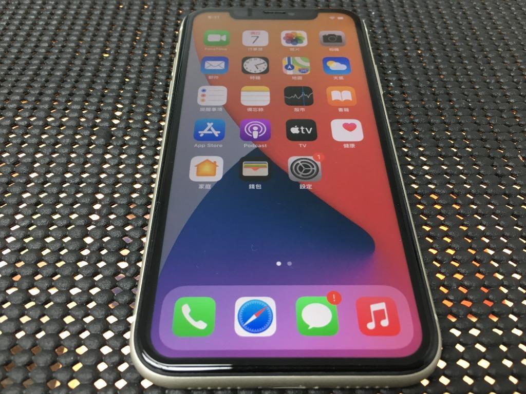 售iPhone 11 64g 白色 盒裝 #5571