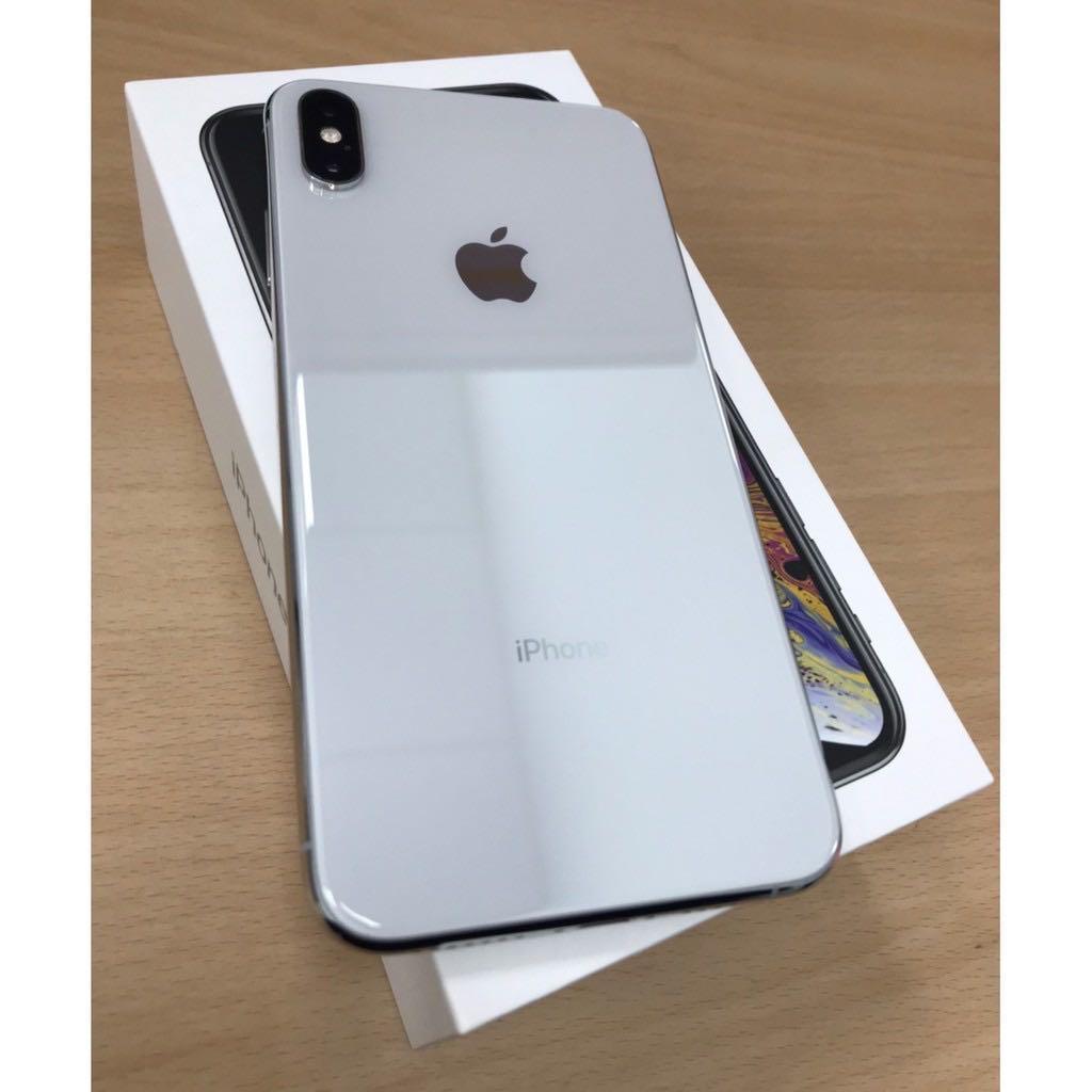 iPhone Xs Max 256g 銀白 台中面交佳