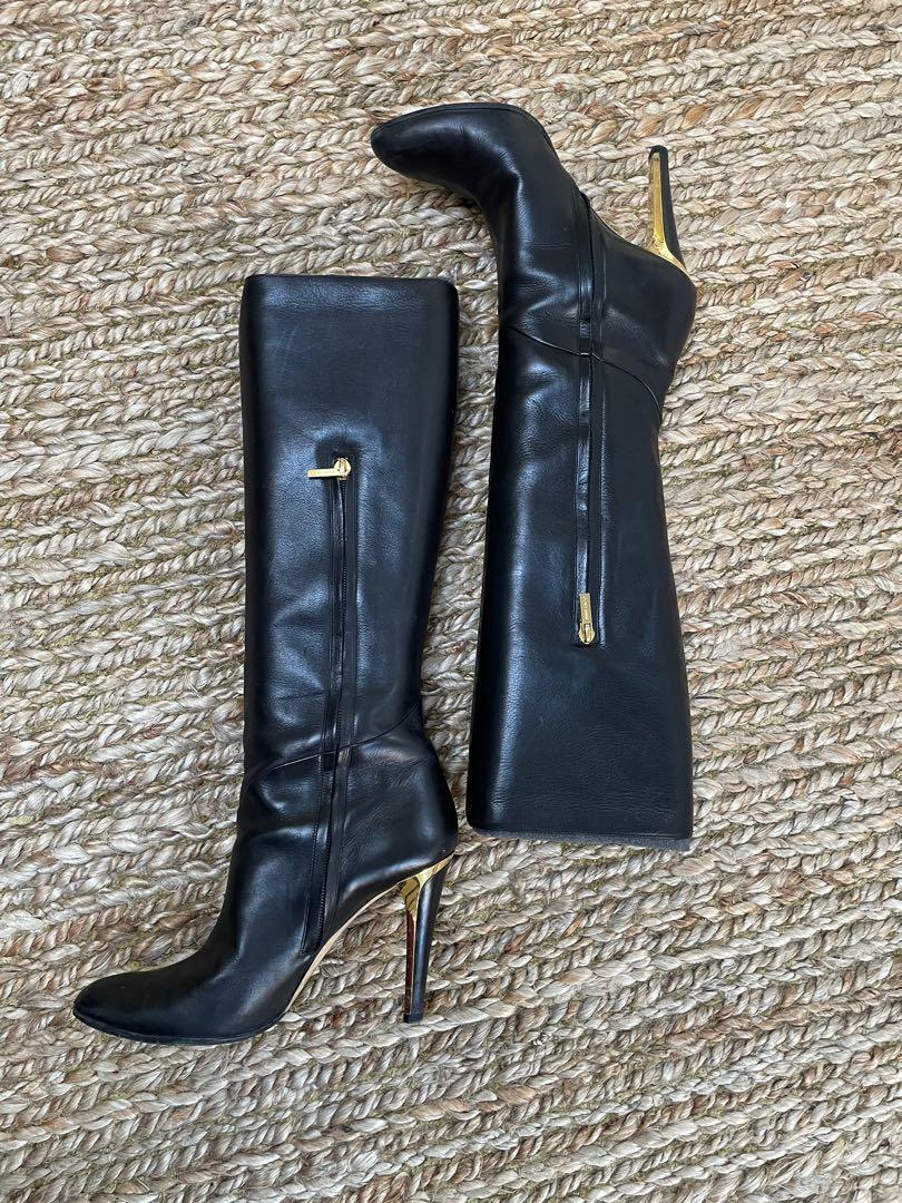 Jimmy Choo Black tall boot - size 39
