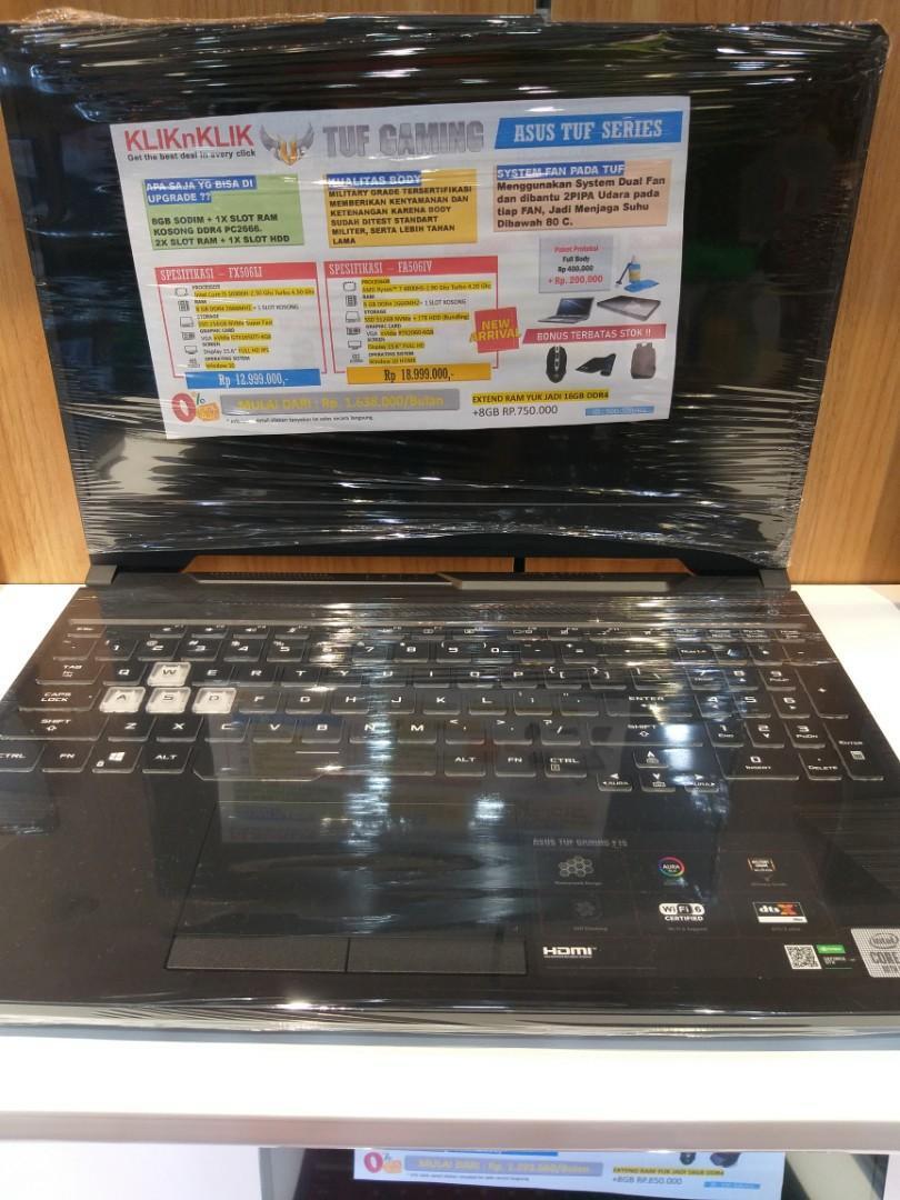 Laptop asus tuf gaming fa506IV