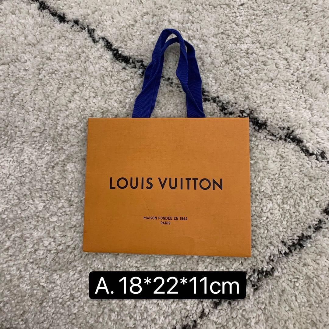 [全網最便宜]  Louis Vuitton 路易威登 紙袋 購物袋 提袋 LV 限量 聖誕節 耶誕 特殊款 基本款 名牌 精品 保證正品