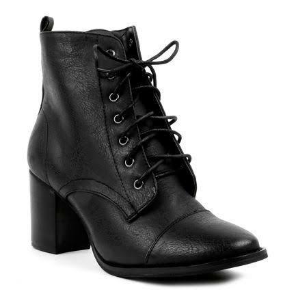 Novo Black Laced Boots