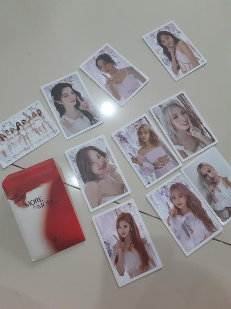 Photocard album more & more official