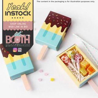 (🌼SALE) Blue Ice Cream Shaped Boxes