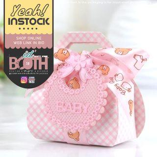 (🌼SALE) Pink Baby Shower Bear Boxes