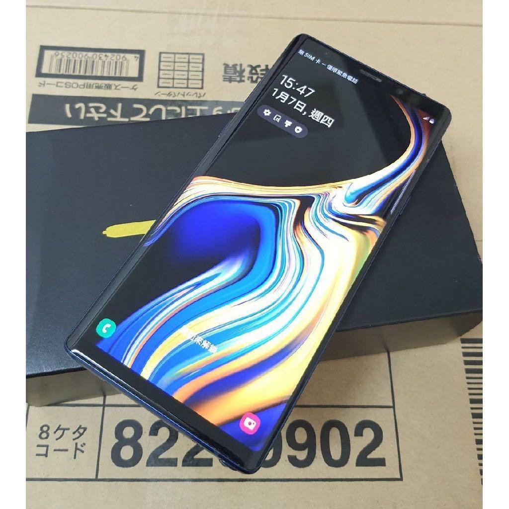Samsung galaxy note9 128gb 藍色