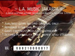 Servis Gitar Akustik dan Elektrik Jakarta Depok Bogor Tangerang Bekasi