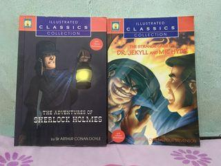 Sherlock Holmes & Dr. Jeckyl and Mr. Hyde