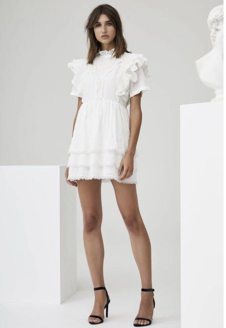 SIR the Label Ivory dress size 8