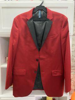 Stylish Zara Red Suit
