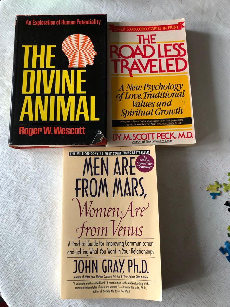 Three classic pop psychology books