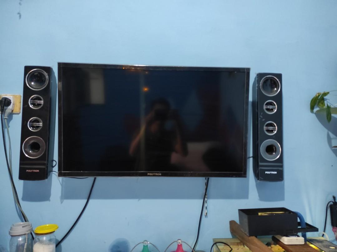#awal2021 Tv led Polytron 32 inch