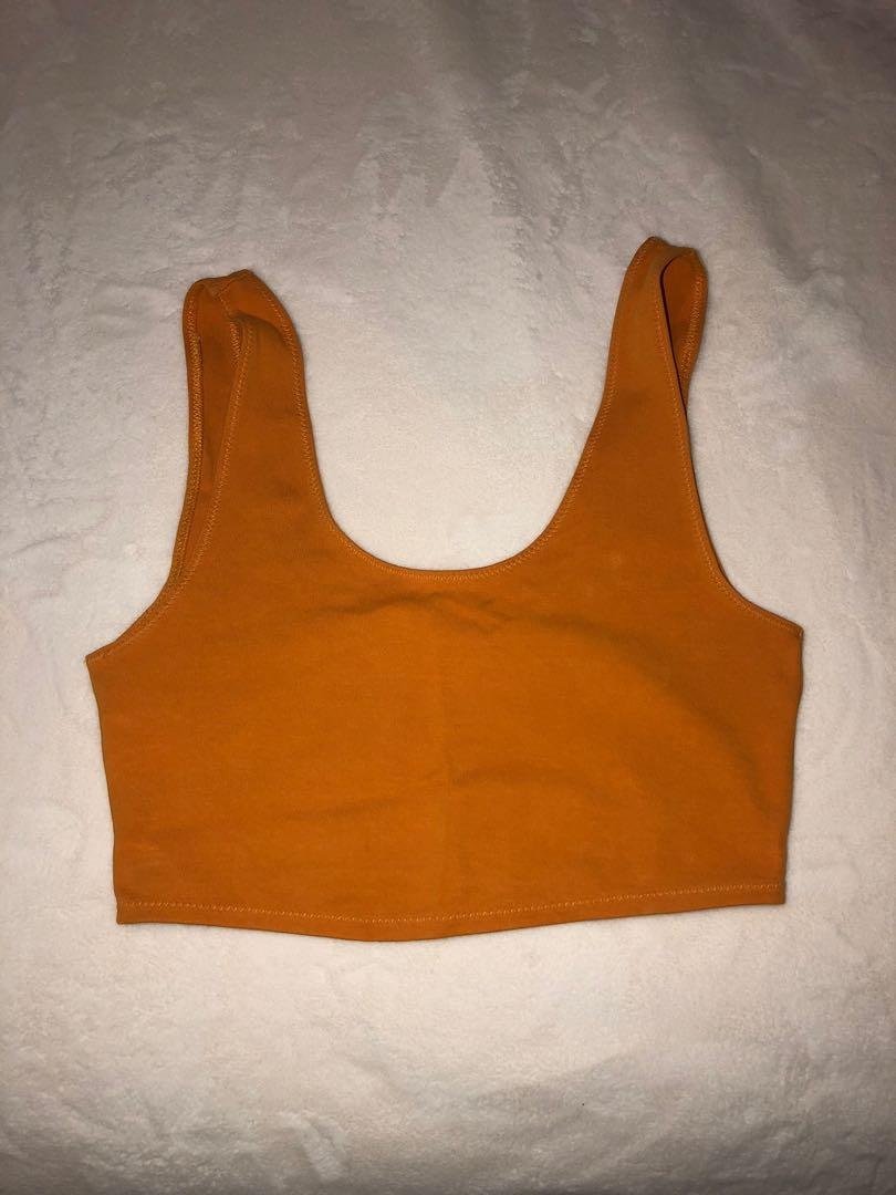 Wilfred crop fitted tank top