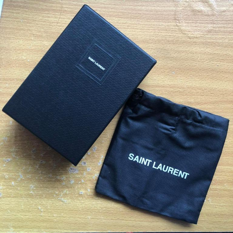 YSL Box and Dustbag