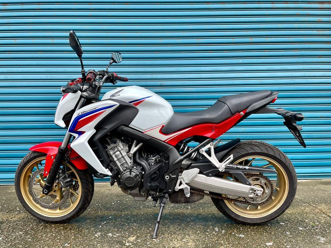 2015 Honda CB650F ABS HRC