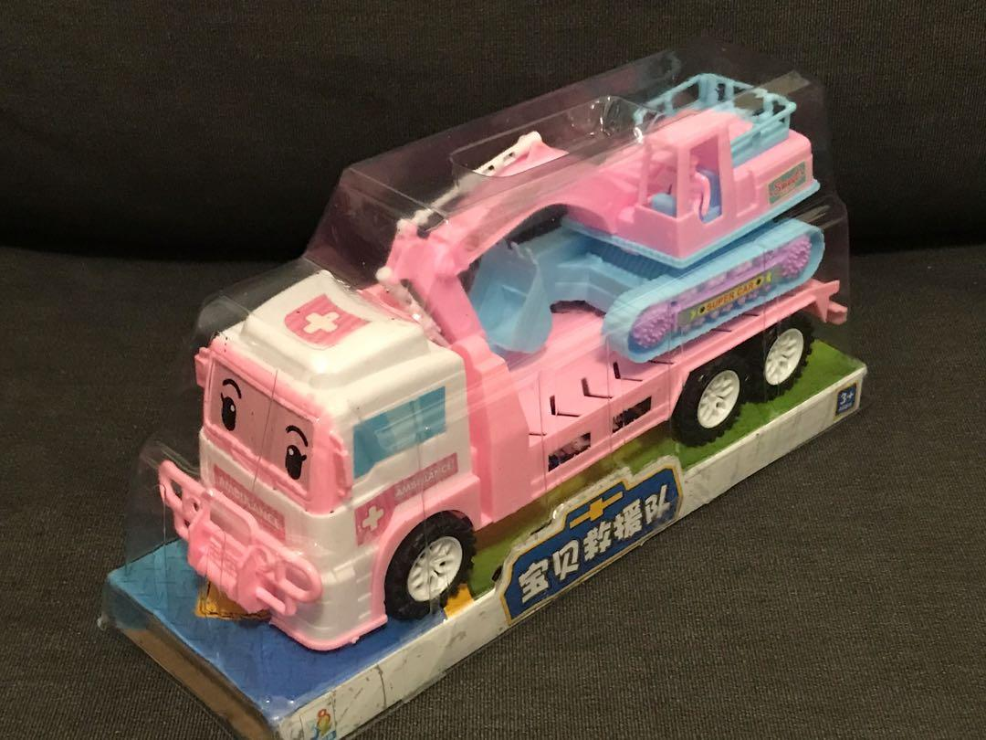 寶貝救援隊玩具車