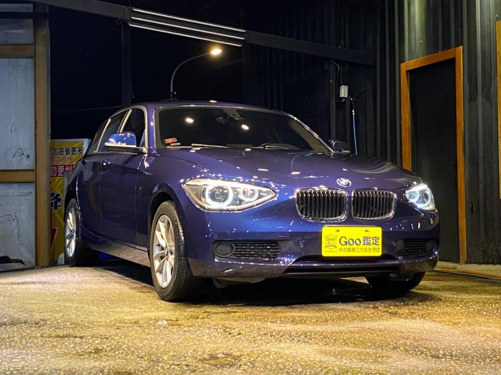 實車實價 2015 BMW 116i 改裝BMW專用車機 以誠為本 買賣安心