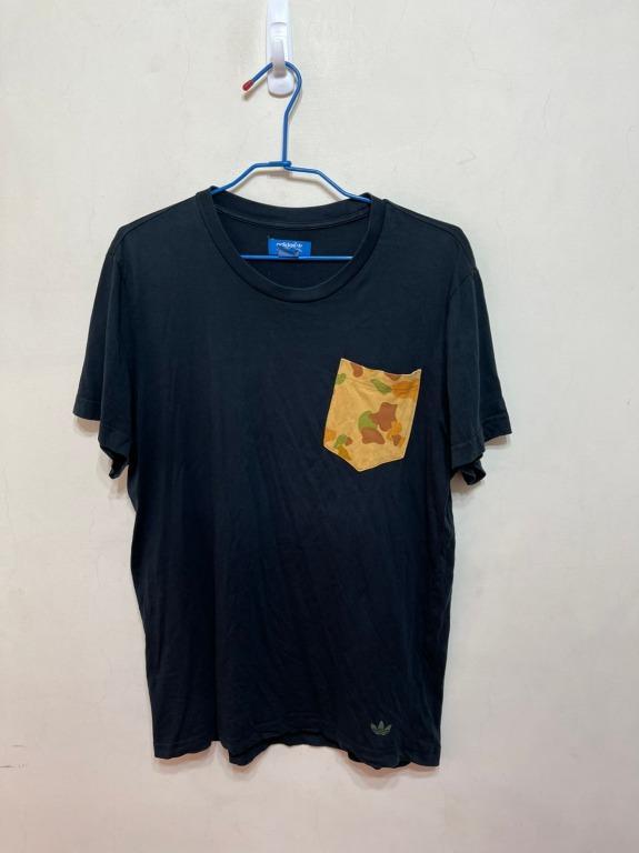 「 二手衣 」 Adidas 男版短袖上衣 L號(黑)21
