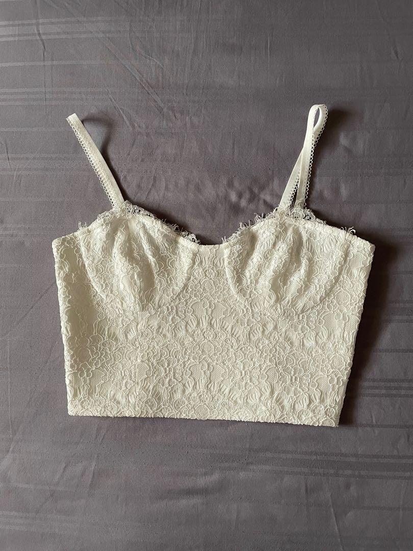 Black lace elastic blouse S USA 6 UK 8