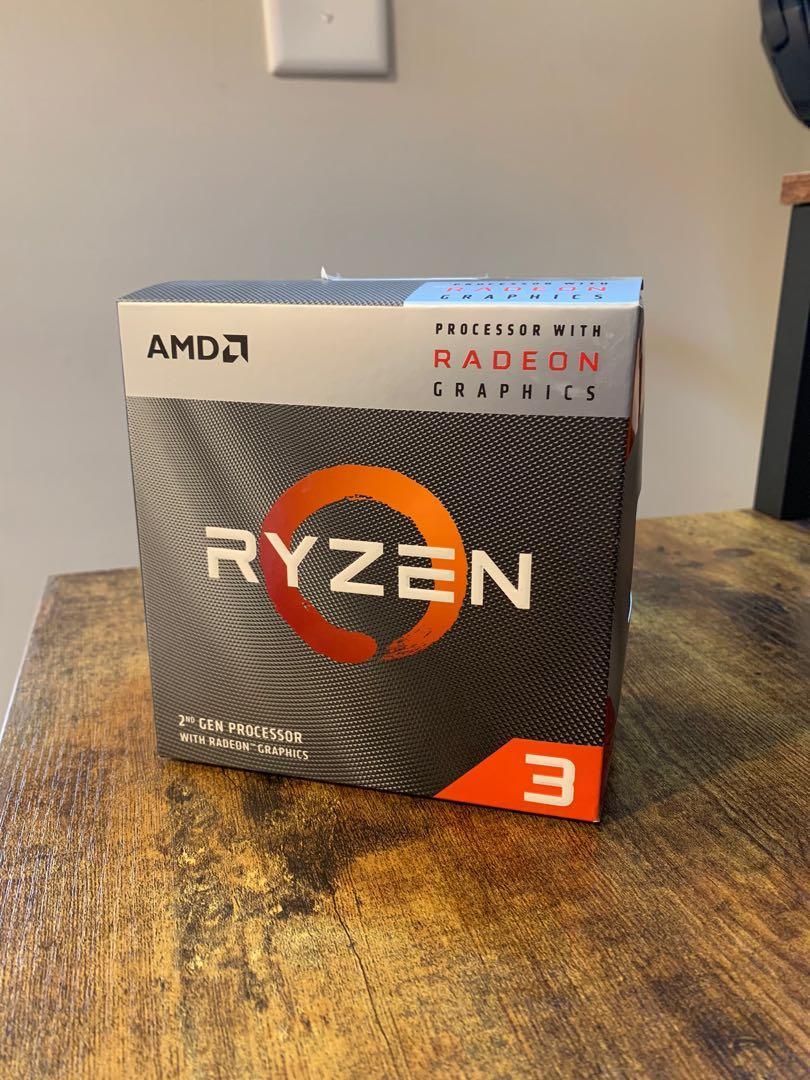 AMD Ryzen 3200g cpu