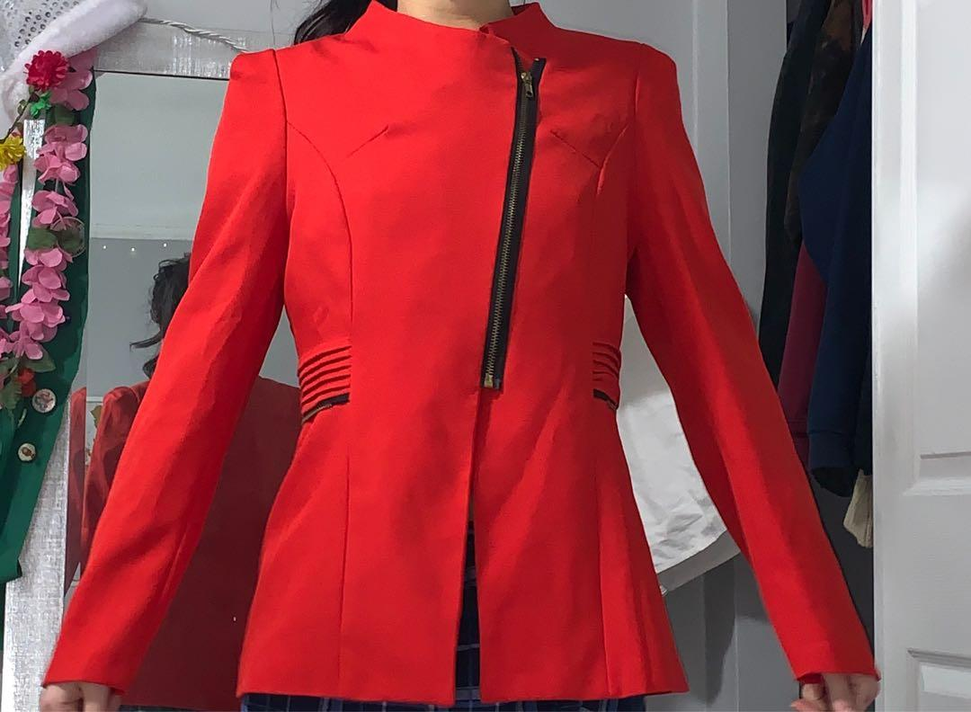Authentic Red Blazer