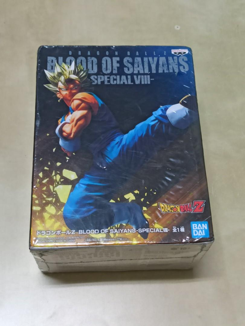 Blood of saiyan VEGITO貝吉塔  白證