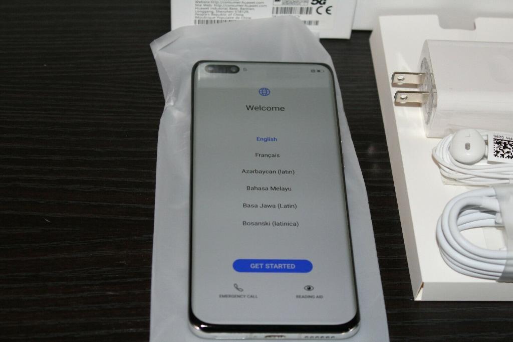 Brand New Huawei P40 Pro ELS-N04 256GB Silver Frost (Unlocked)