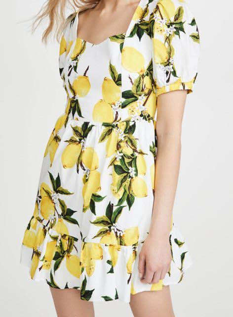 English Factory mini lemon dress    L size