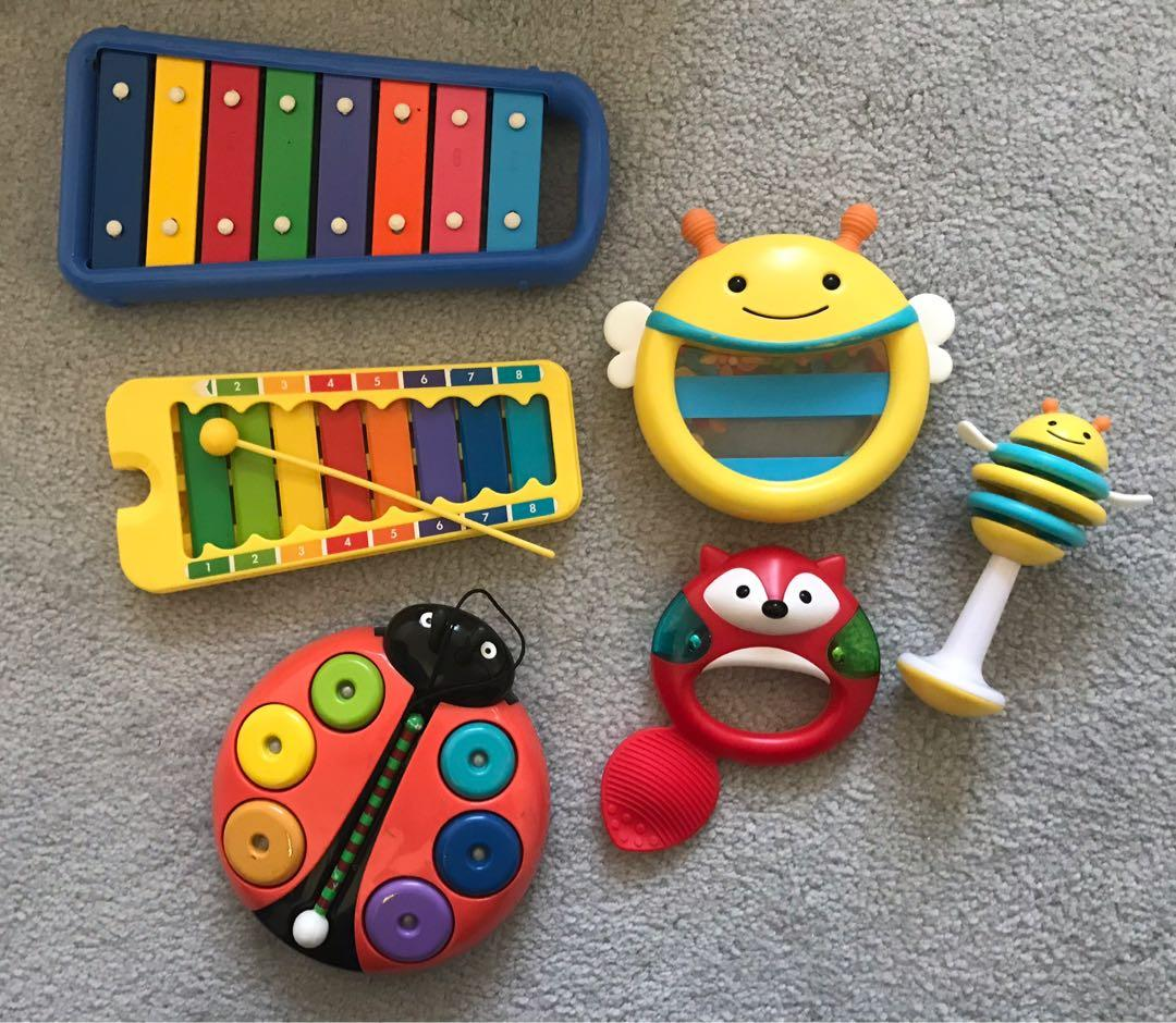 EUC Skip hop musical instrument set / xylophone toys ($20 for all)