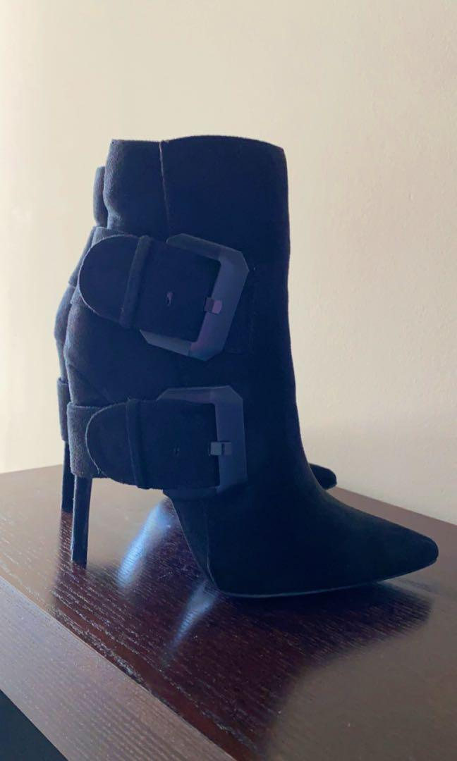 Fashion Nova Black Booties