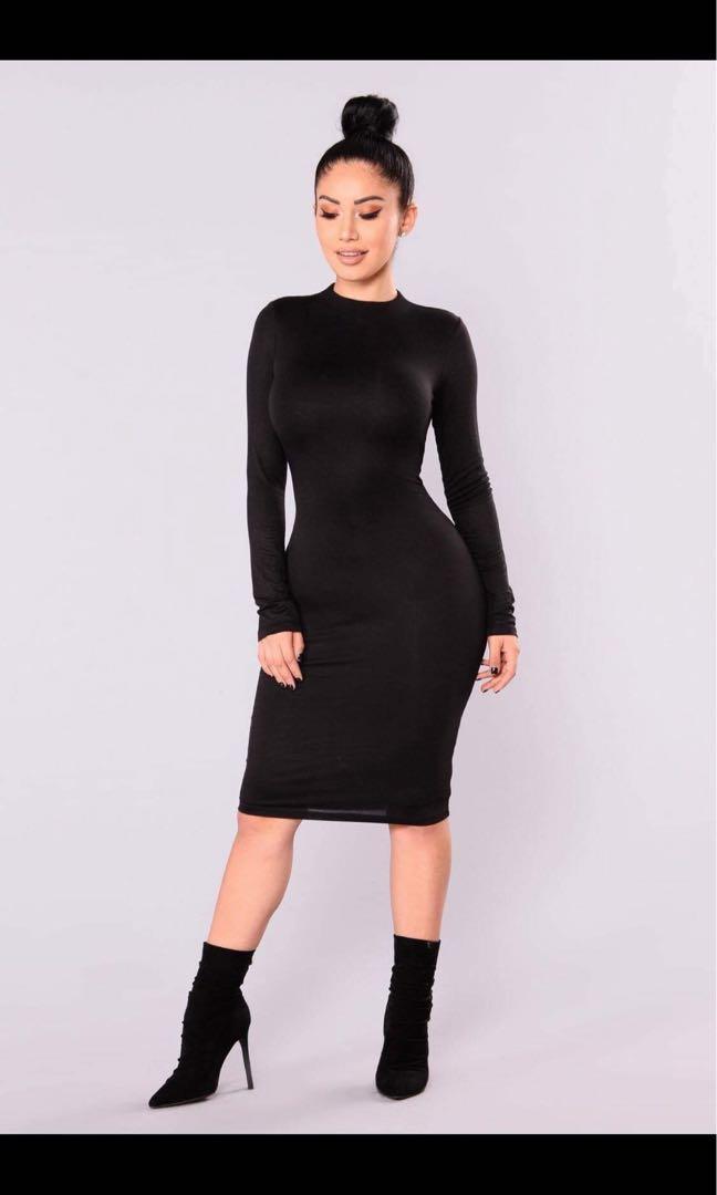 Fashion nova kora midi dress