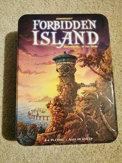 Forbidden Island Board Game - Only played once