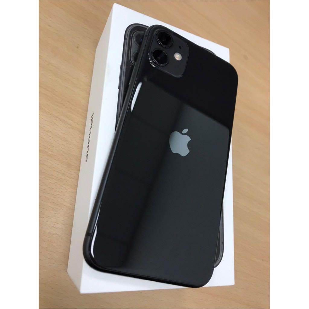 iPhone11  128gb 6.1吋 黑色 保固中