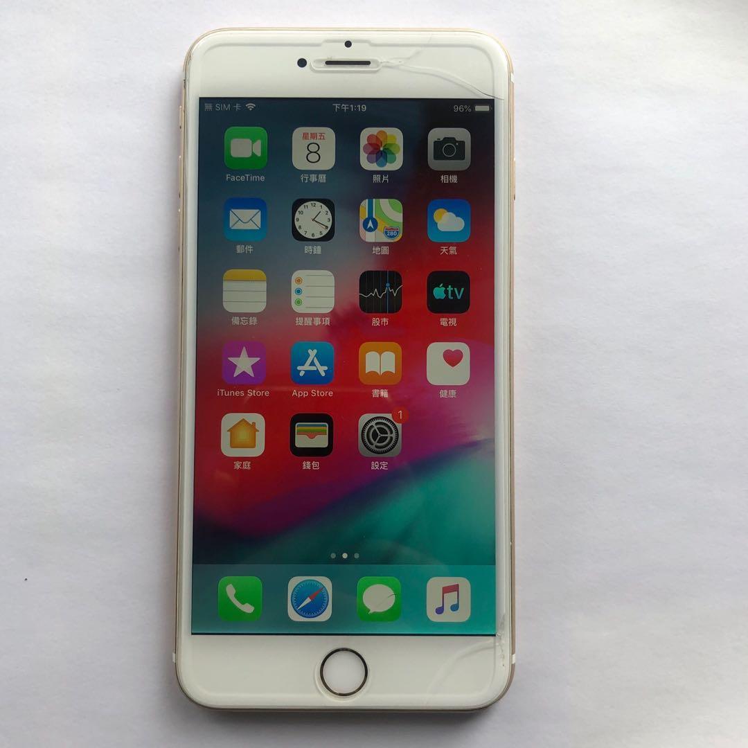 iPhone 6plus 金色 二手手機