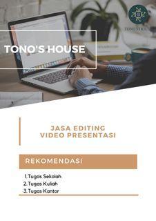 Jasa Editing Video Presentasi