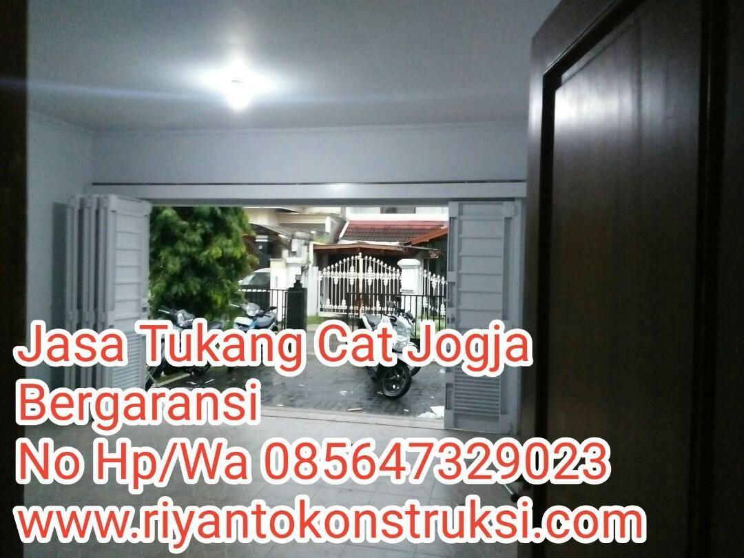 Jasa Tukang Cat Rumah Yogyakarta//Jasa Renovasi Rumah Yogyakarta//www.riyantokonstruksi.com//085647329023