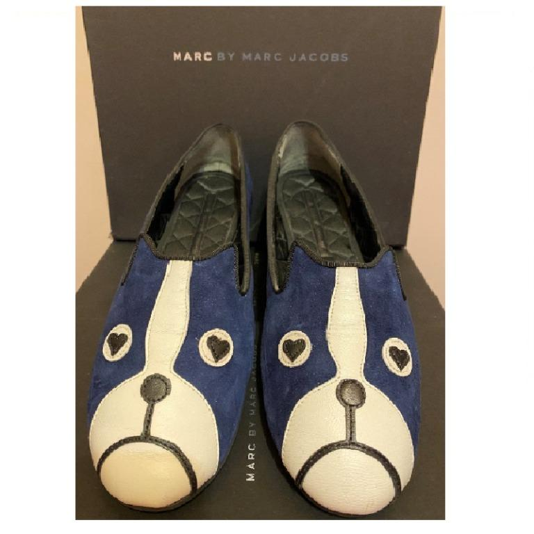 正品/二手 Marc Jacobs 平底鞋 藍