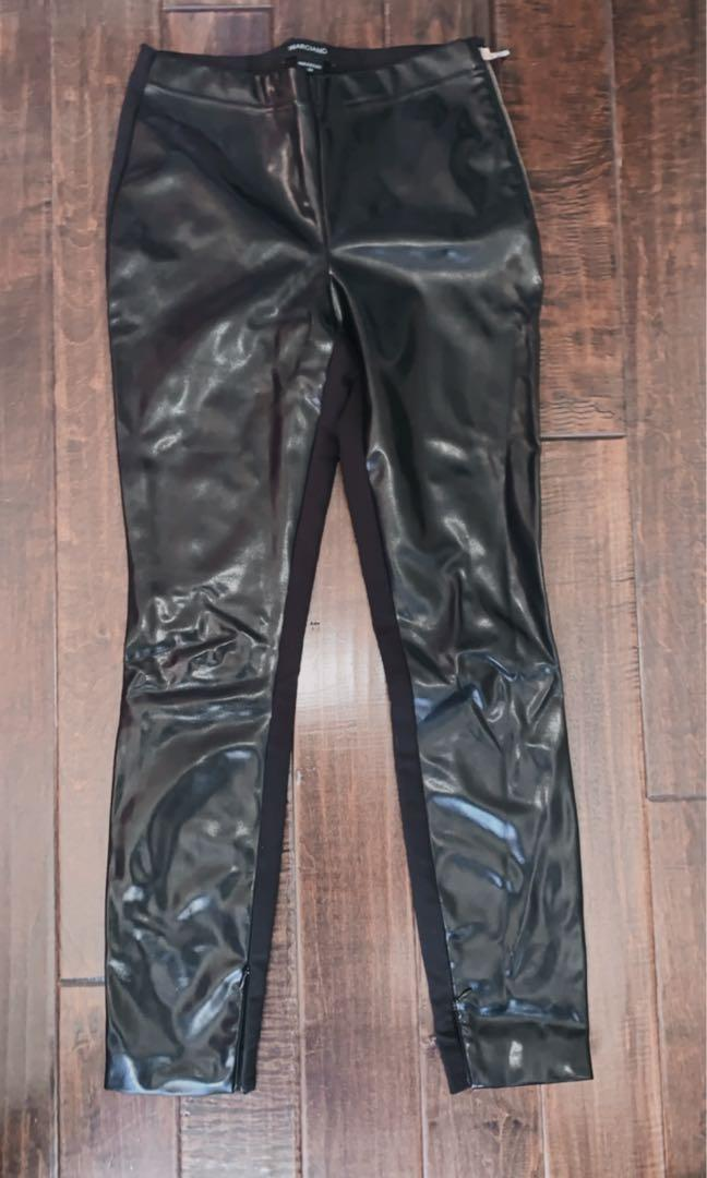 Mendocino leather pants with side zipper size XS