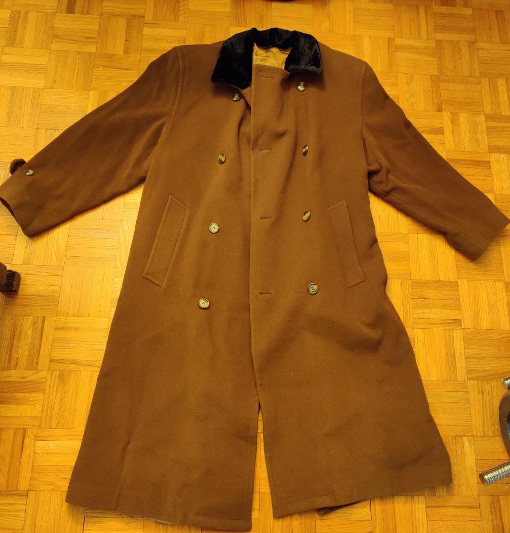 Men's Cashmere Coat