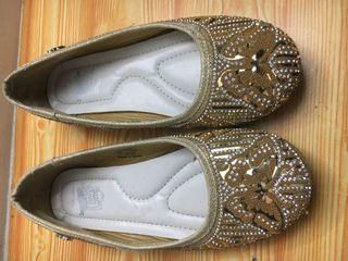 Branded  glittery shoes