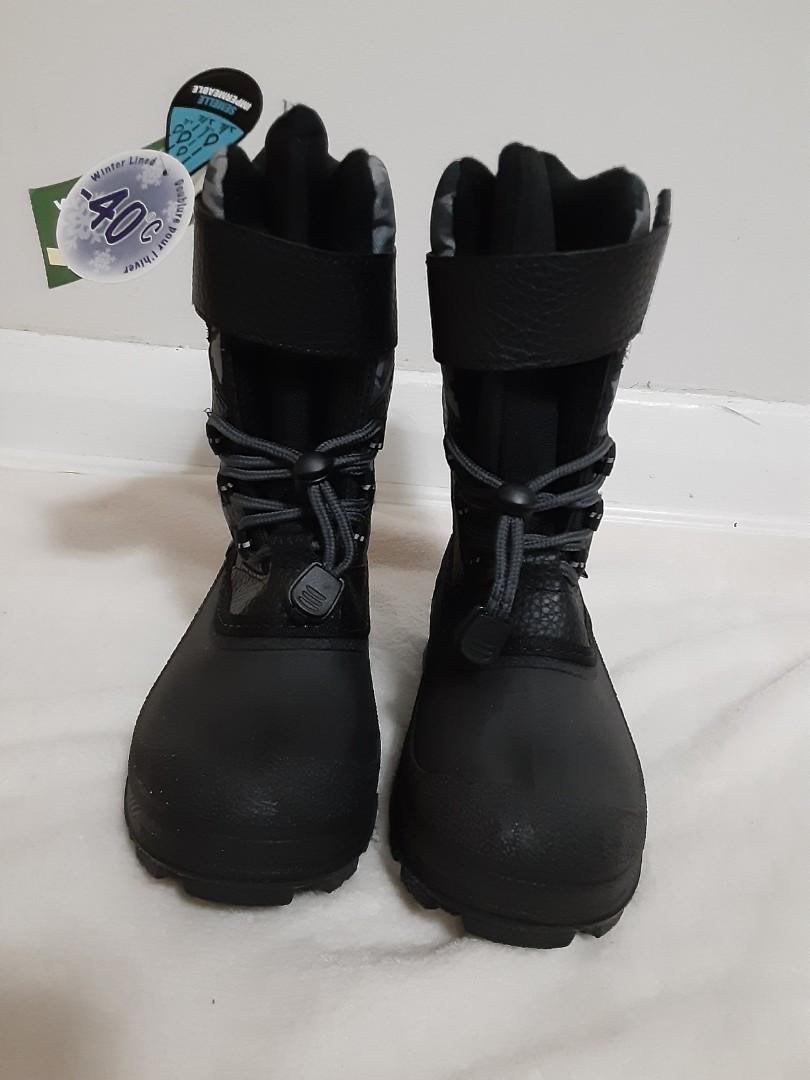 New Brand, Size 13, Boy winter boots, -40°