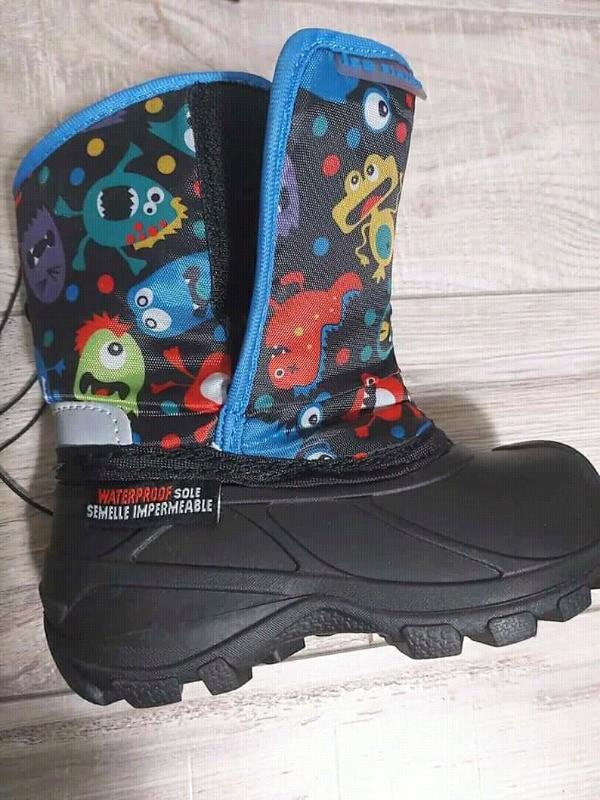 New brand, size 10, winter waterproof toddler boots,-30°