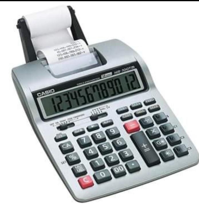 NEW Brand.Printing calculator CASIO, 2 line/second