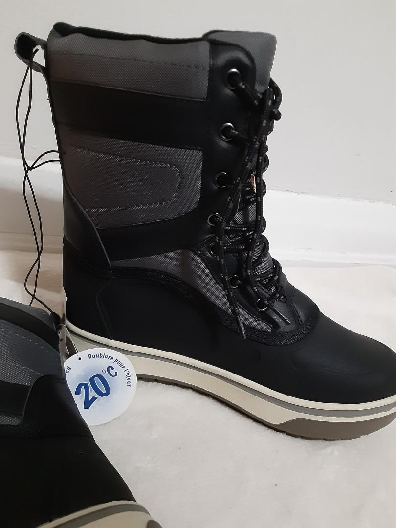 New Brand,Size 5,Boy Winter Boots,-20°