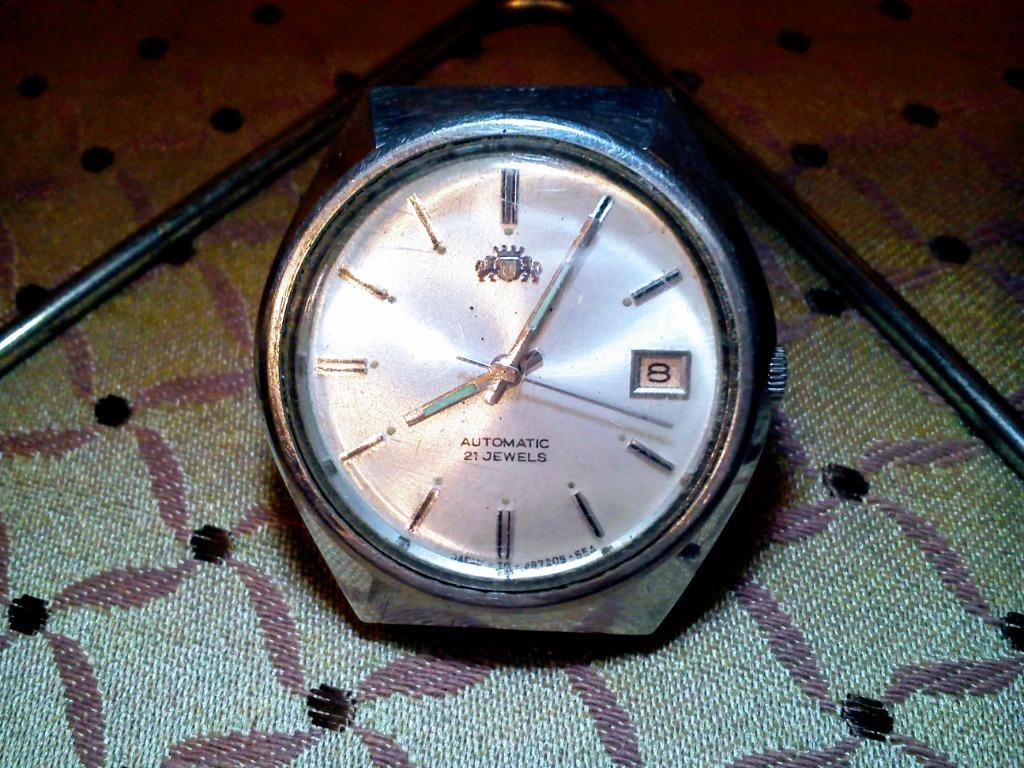 Orient  機械錶 自動上鍊 日期顯示 功能正常