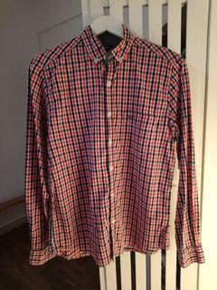 Pepe Jeans Red Checkered Shirt